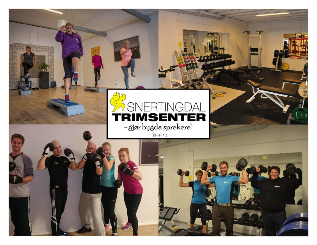 Trimsenteret collage
