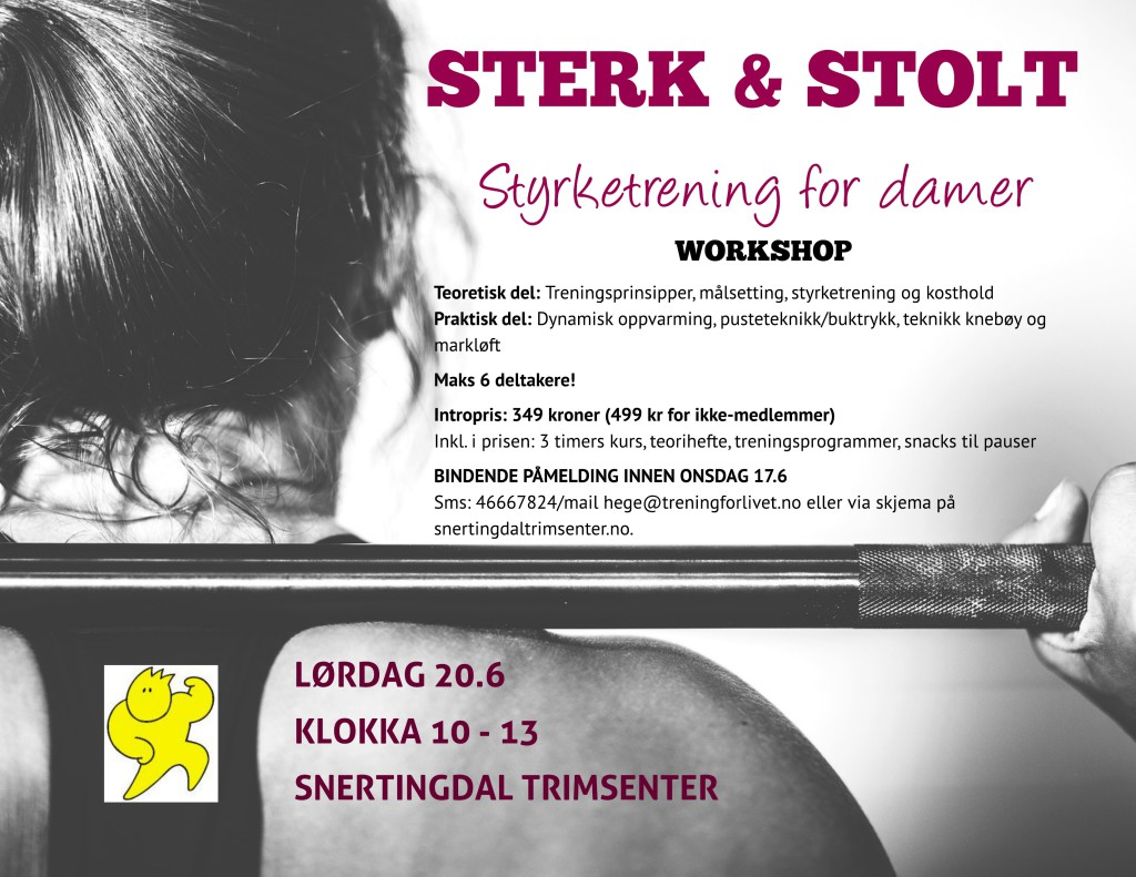 Sterk & stolt workshop 1